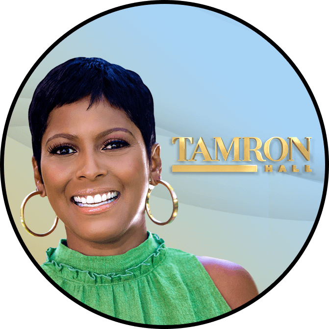 Tamron Hall premiered