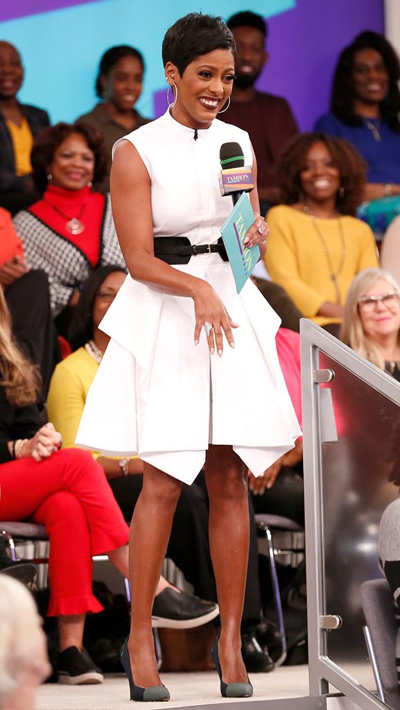 White Dress by Alexander McQueen // Shoes by Proenza Schouler // Jewelry by Jennifer Miller
