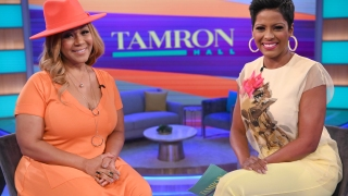 "Erica Campbell on ""Tamron Hall"""