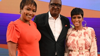 Mathew, Gena Knowles, and Tamron Hall
