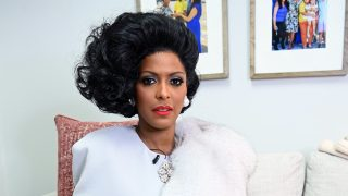 Tamron Hall as Tamron Hall as Dominique Deveraux/Diahann Carroll // Walt Disney Television/Jenny Anderson