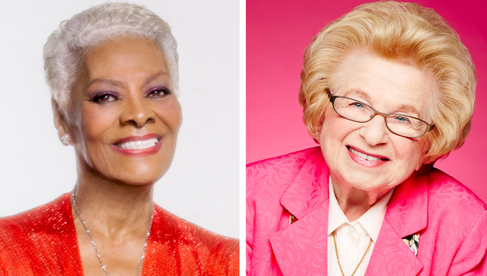 Dr. Ruth and Dionne Warwick