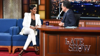 "Tamron Hall on ""The Late Show with Stephen Colbert"""