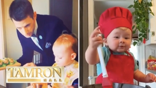 Meet The 1-Year-Old Baby Chef With Over A Million Followers