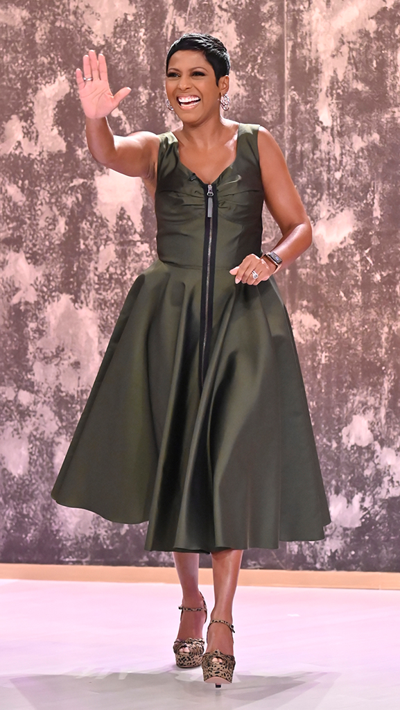 Dress by Burberry // Shoes by Aquazzura // Jewelry by Jennifer Miller