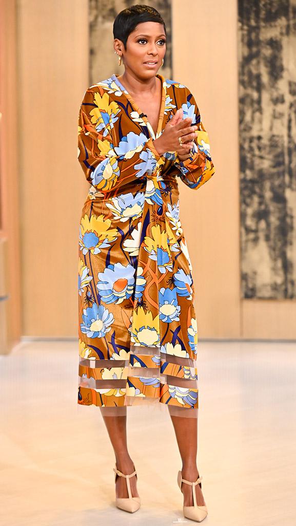 Dress by FENDI // Shoes by Malone Solariers // Jewelry by Scosha