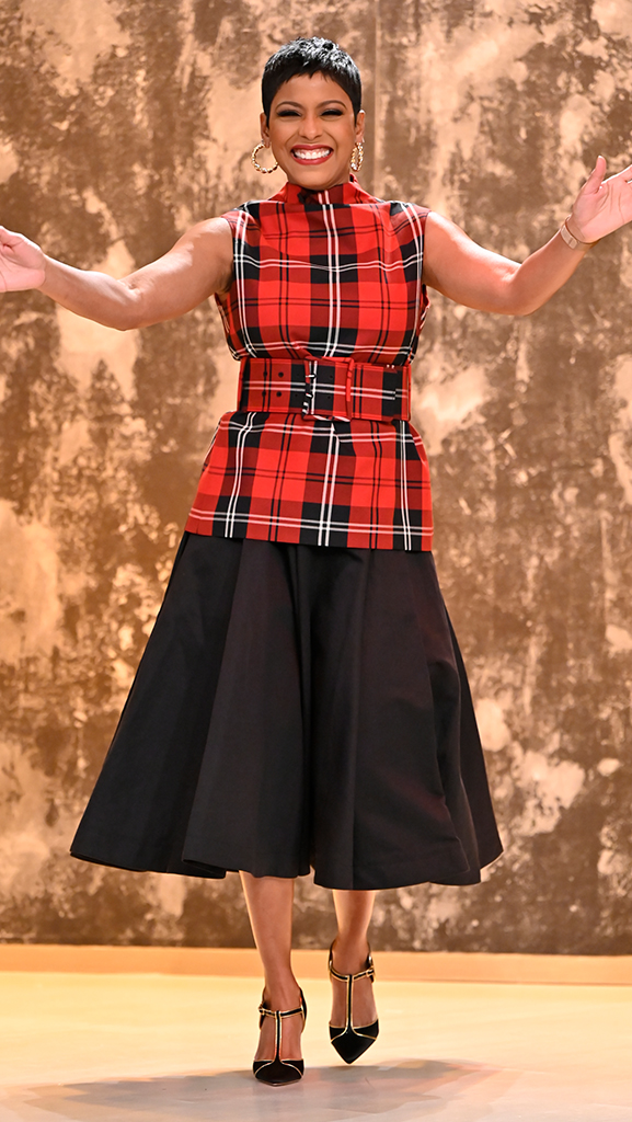 Plaid Top by Marc Jacobs // Skirt by Loewe // Shoes by Gianvito Rossi