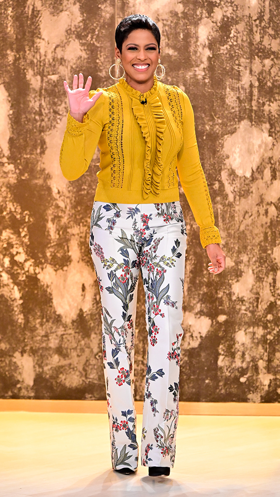 Top by Zara // Pant by Gucci // Shoes by Jimmy Choo // Earrings by Jennifer Miller