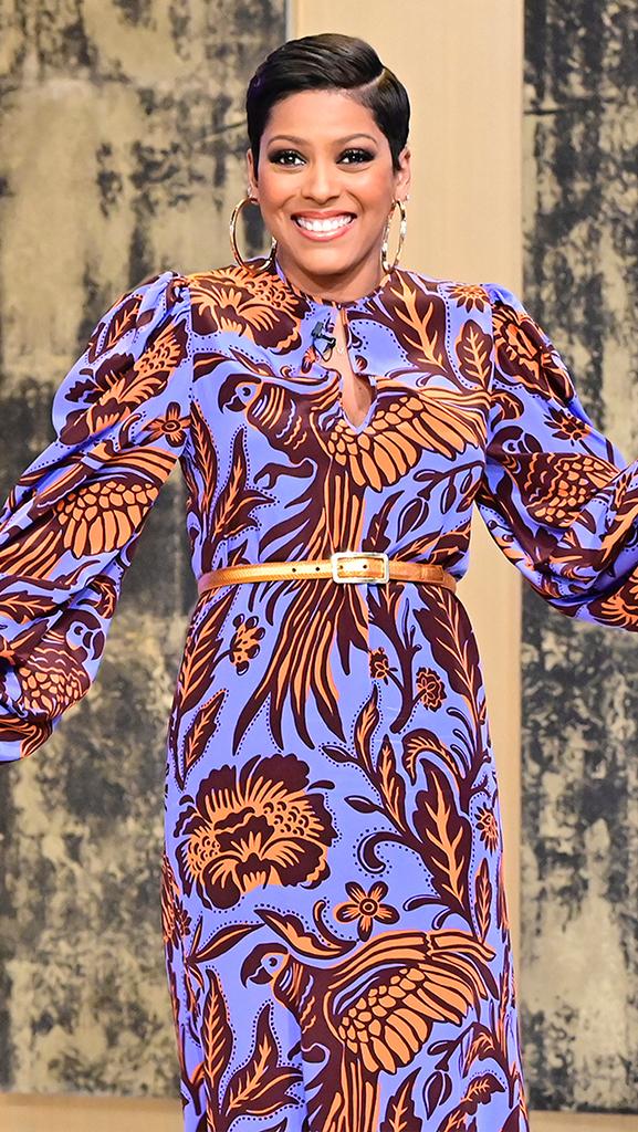 Dress by Johanna Ortiz // Earrings by Jennifer Miller // Shoes by Jimmy Choo