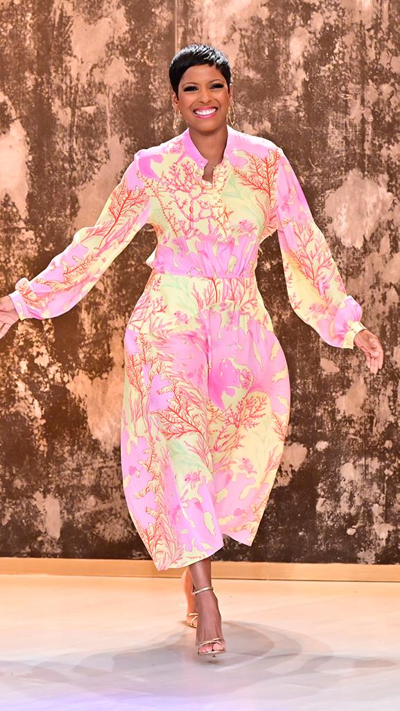 Dress by Stella McCartney // Shoes by Gianvito Rossi // Earrings by Jennifer Miller
