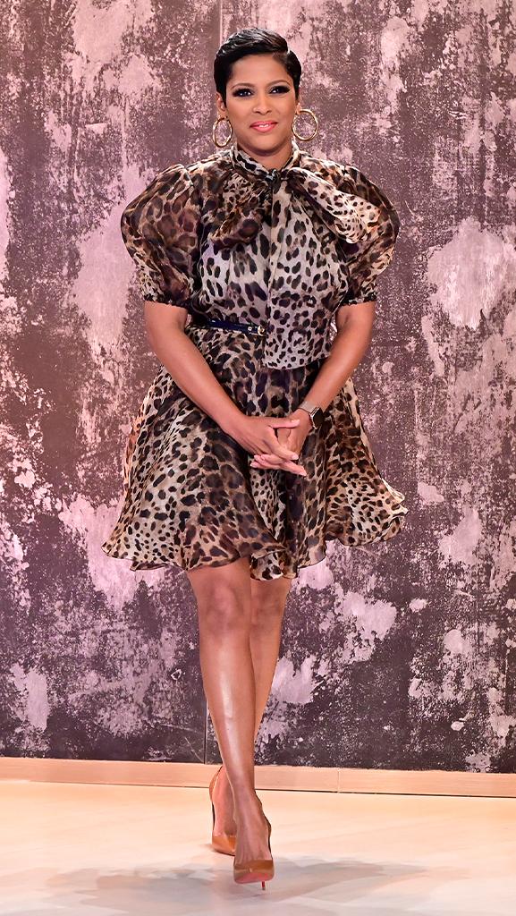 Dress by Dolce & Gabbana // Shoes by Christian Louboutin // Earrings by Jennifer Miller